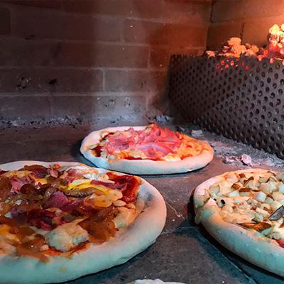 pizzas a la brasa